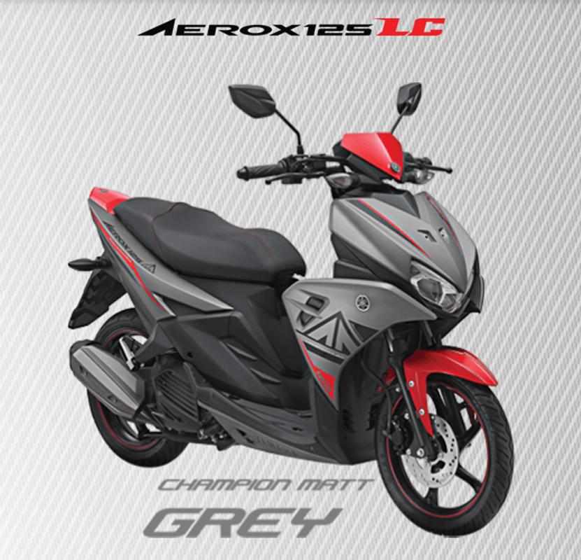 Aerox 125 LC GREY