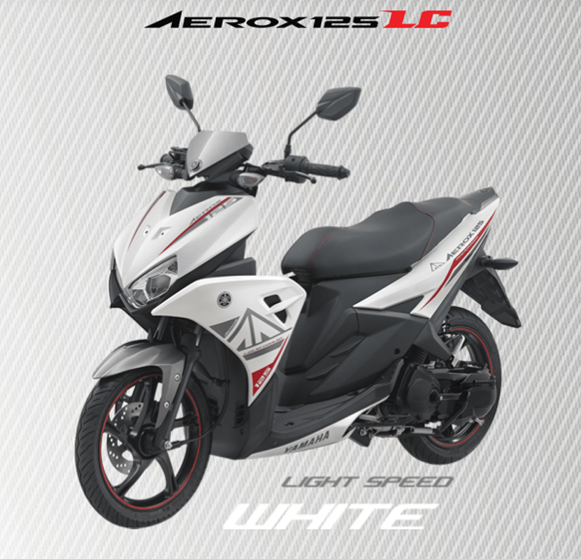 Aerox 125 LC WHITE
